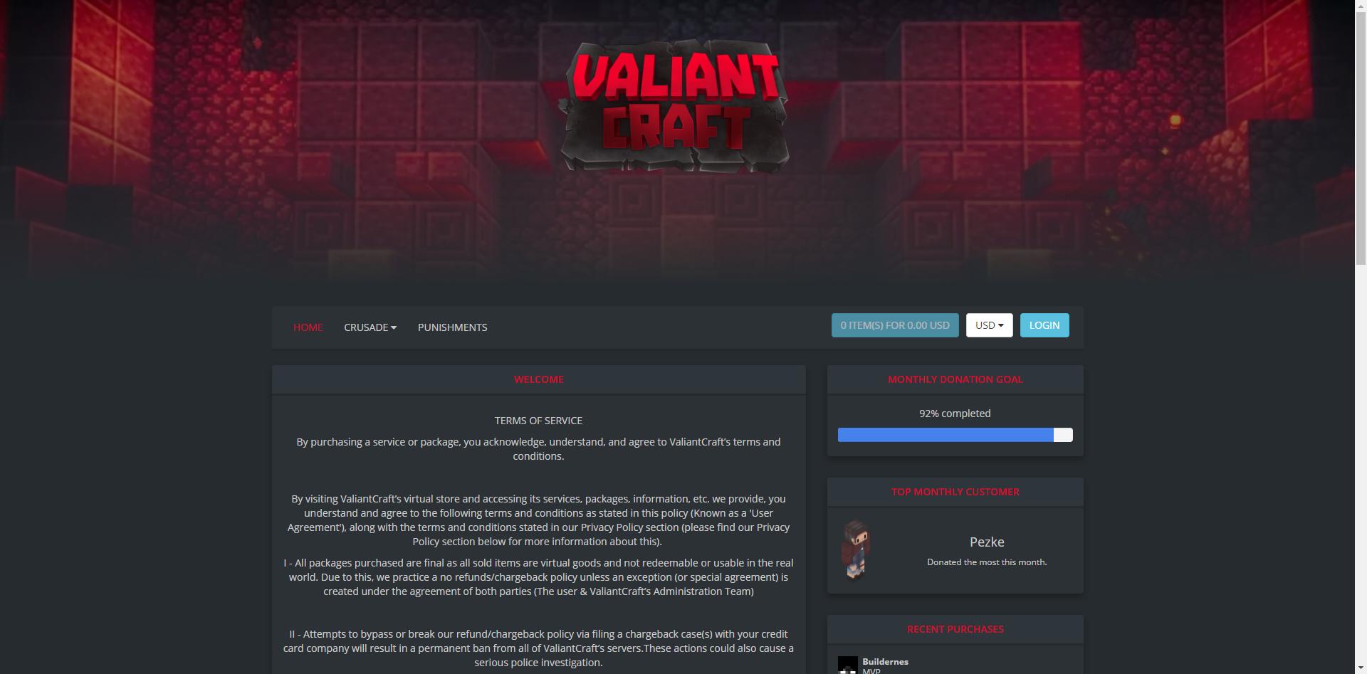 Valiant Craft